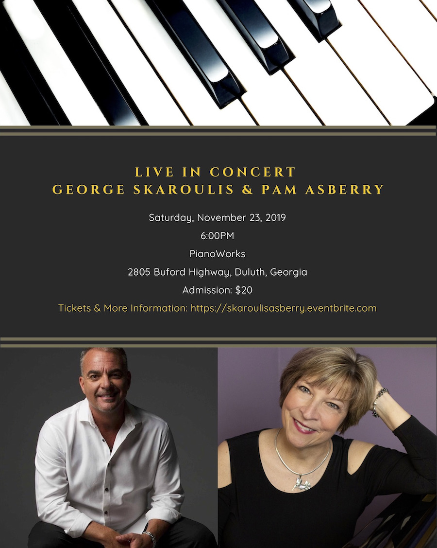 George Skaroulis + Pam Asberry Live in Concert 11-23-19