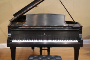 Steinway model A refinished by PianoWorks