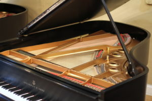 Inside Steinway A rebuilt by PianoWorks