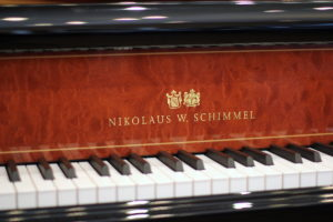 Schimmel 6'3″ Nikolaus W. Schimmel Edition K189NWS with QRS player system