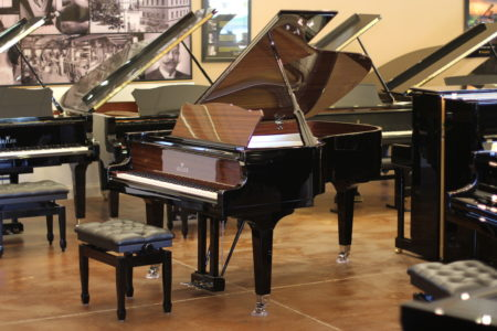 Seiler 170th Anniversary piano, full