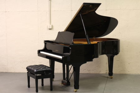Yamaha S4 grand piano - full