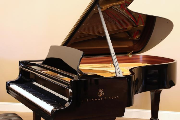 New Steinway model B - right